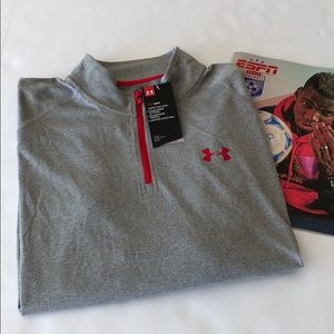 NWT Under Armour HeatGear Loose Fit 1/4 Zip Up